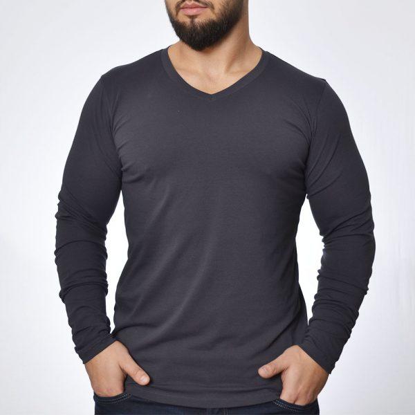 Мъжка тениска дълъг ръкав