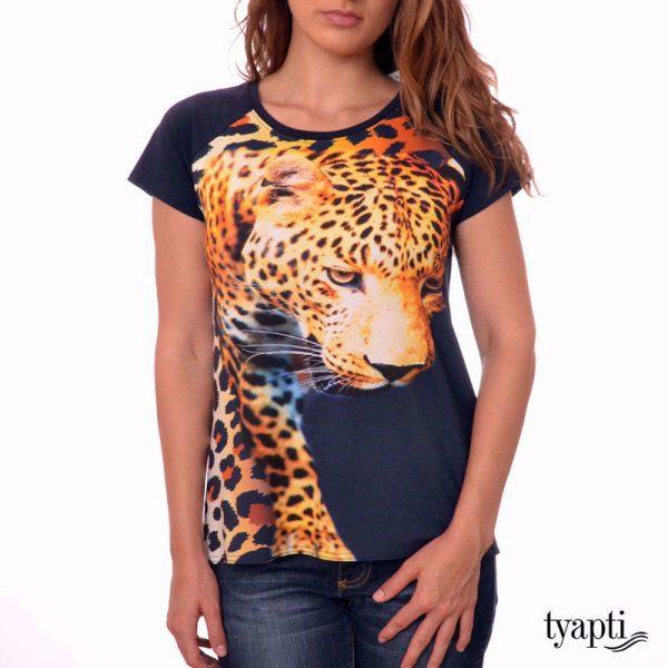 дамски блузи щампа принт
