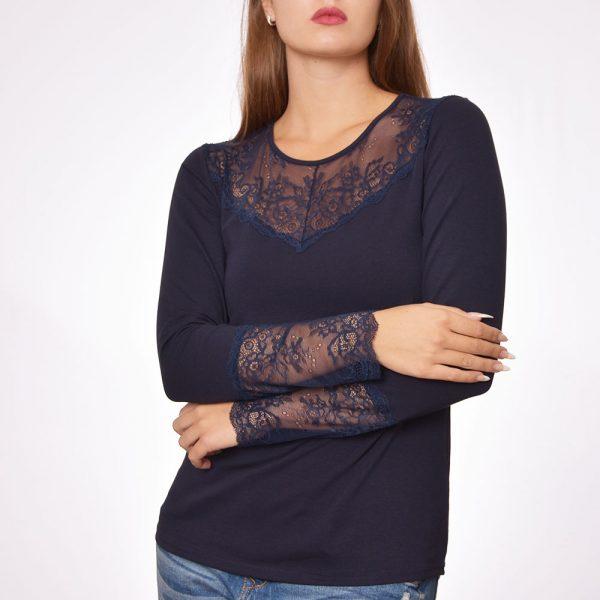дамски блузи дантела