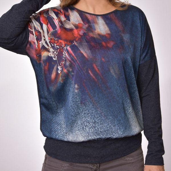сатенени блузи